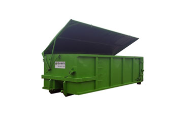 rent dumpster bin with lid
